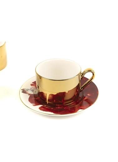 Mikasa Moor Centro 6Lı Çay Fincanı Seti Renkli